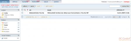 Test skrzynek e-mail - WP
