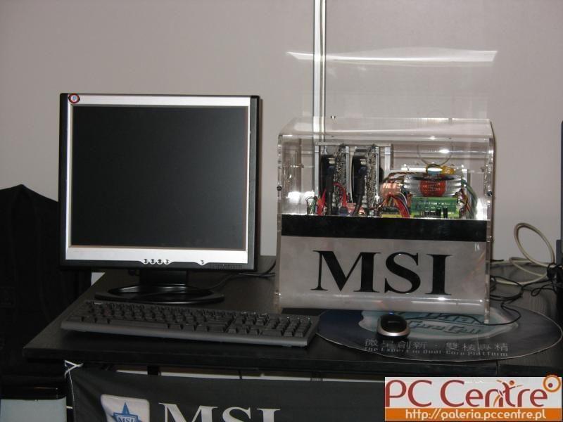 Komputer pokazowy firmy MSI