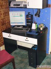 Komputer, na którym pracuję