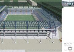 Stadion w Krakowie