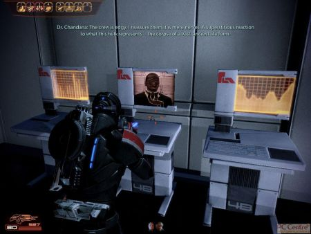 Screen z gry: Mass Effect 2