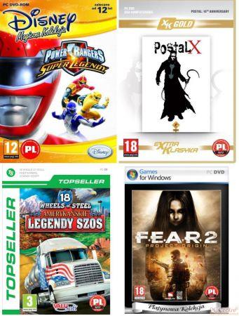 Okładki gier należących do tanich serii firmy CD Projekt