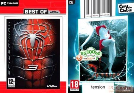Okładki gier należących do tanich serii firm Techland i LEM