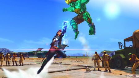 Screen z gry Street Fighter IV