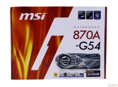 MSI 870A-G54