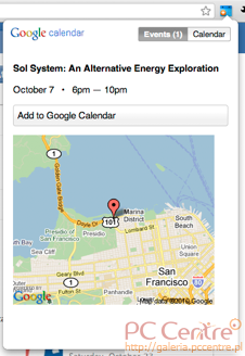 Google Calendar od Google dla Chrome