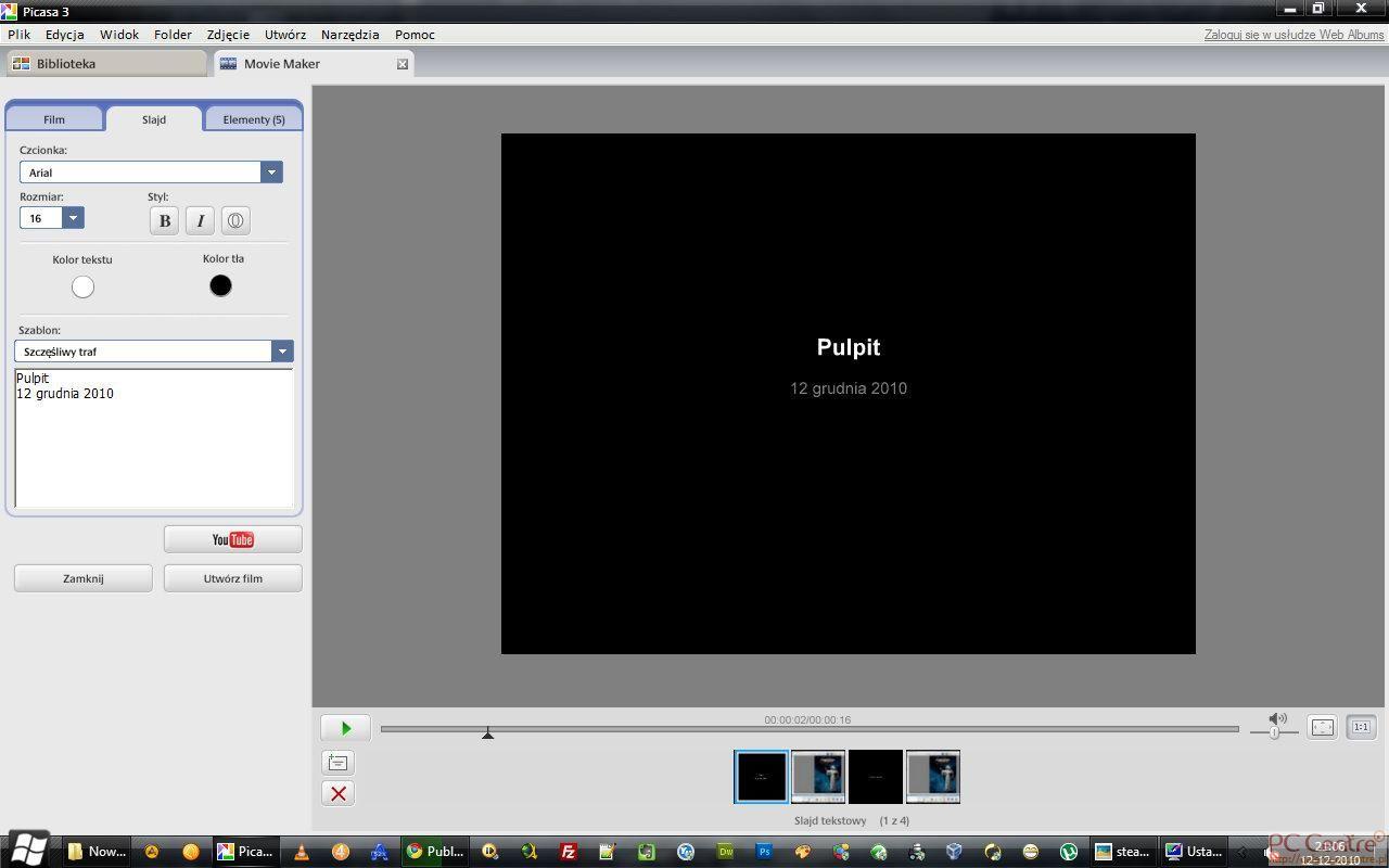 Tworzenie klipu video