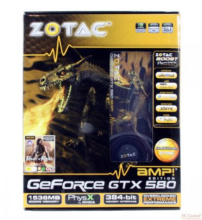 Zotac GeForce GTX 580 AMP! Edition
