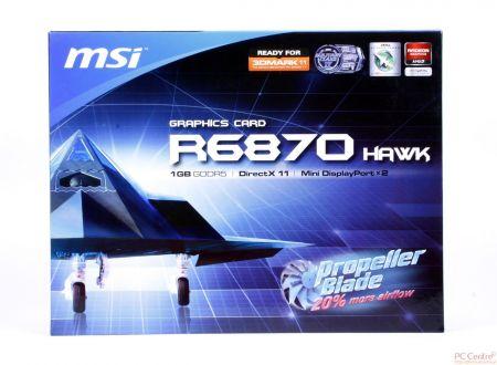 MSI Radeon HD 6870 Hawk